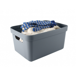 Box sigma home 13l bleu gris