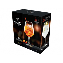 2 VERRES A COCKTAIL SPRITZ...