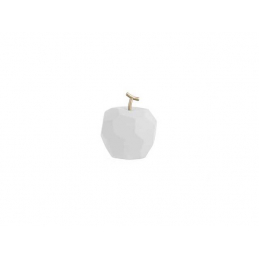 Statue Pomme ORIGAMI Blanc...