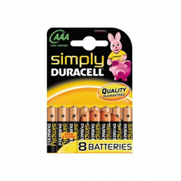 DURACELL Piles AAA Simply -...