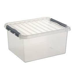 BOX 36L Q-LINE TRANSPARENT...
