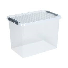 BOX 72L Q-LINE TRANSPARENT...