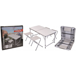 Set camping 5pces  table +4...