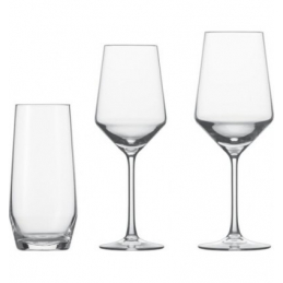 SET 18PCS VERRES N°0-1-42 PURE