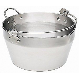 Bassine à confiture inox 9L...