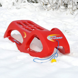 Luge Rolly Snow Cruiser rouge
