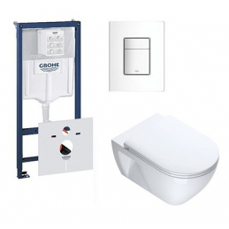 PACK Wc suspendu GROHE +...