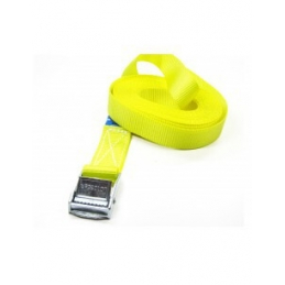 Sangle jaune longeur 0.5m 25mm