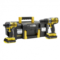 STANLEY Set Perceuse +...