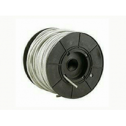 Cable zn+pvc transp 3-4mm -...