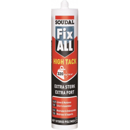 290ML FIX ALL HIGH TACK BLACK