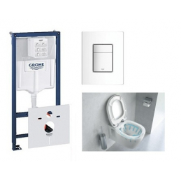Pack Wc Grohe Rapid SL avec...
