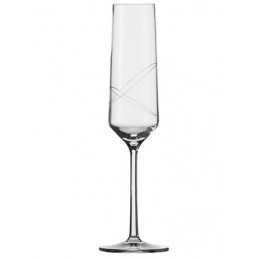 6 flutes champagne n°7 pure...