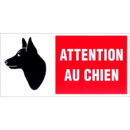PICTOGRAMME 'ATTENTION AU...