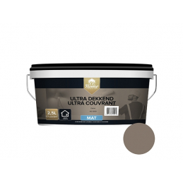 Ultra couvrant mat cacao 2.5l