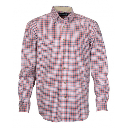 Chemise beaugency rouge  l