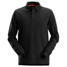 POLO RUGBY NOIR L