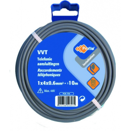 CABLE VVT TELEPHONE 1X4X0.6...