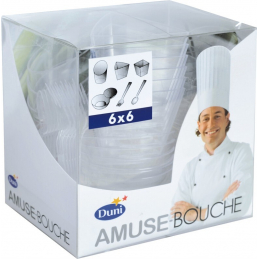 COMBI PACK 36PCS AMUSE-BOUCHE