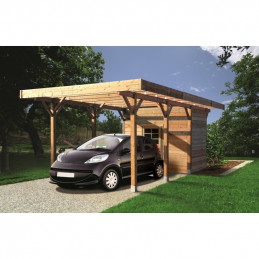 SOLID Carport 3064x7064mm...