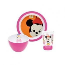 Set 3pcs diner minnie big...