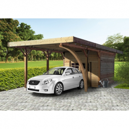 SOLID Carport 4064x7064mm...
