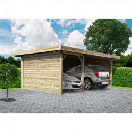 SOLID Carport 5064x7064mm...