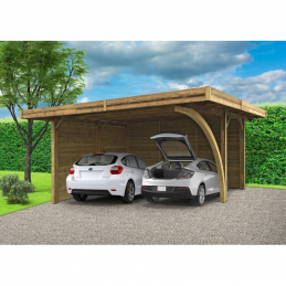 SOLID Carport 5064x6064mm...