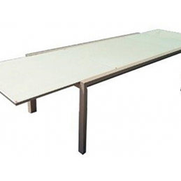 Table Aluminium-verre...