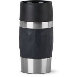 Travel mug compact 30cl noir