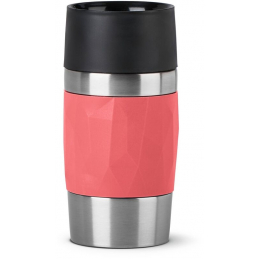 Travel mug compact 30cl pink