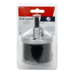 SET 7 SCIES CLOCHE 25 A 62MM