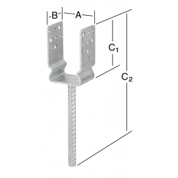 Support 91x60x125mm