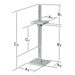 Support 80x100 mm