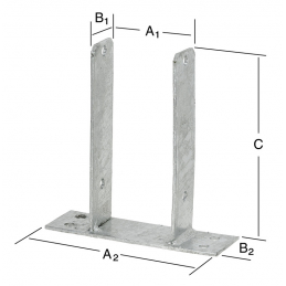 Support 91x50x200mm