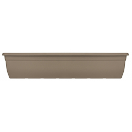 Jardiniere relax 80 cm. taupe