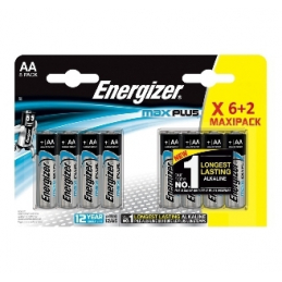 ENERGIZER Piles AA MAX PLUS...